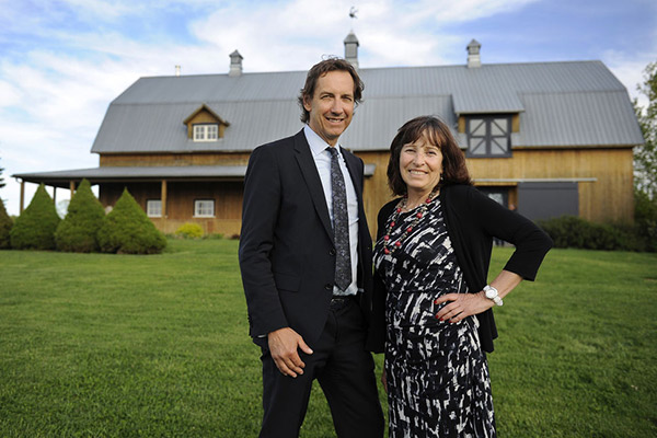 Michel Bell et Madeleine Dupuis