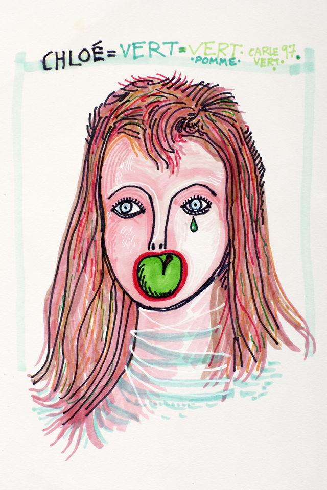 Chloé vert pomme