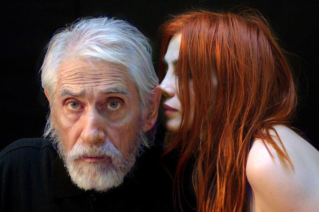 Gilles Carle et Chloé Sainte-Marie