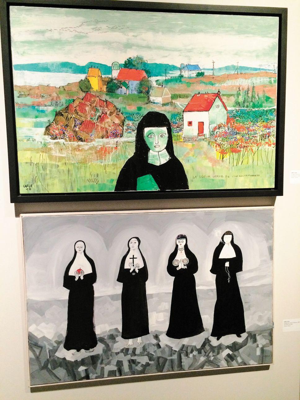 Deux œuvres de Gilles Carle