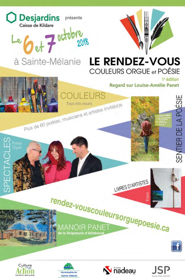 Rendez-vous 2018 à Sainte-Mélanie