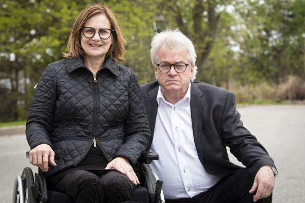 Lisette Joyal et Mario Goupil