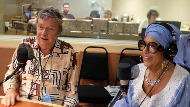 François Gourd et Francine Grimaldi