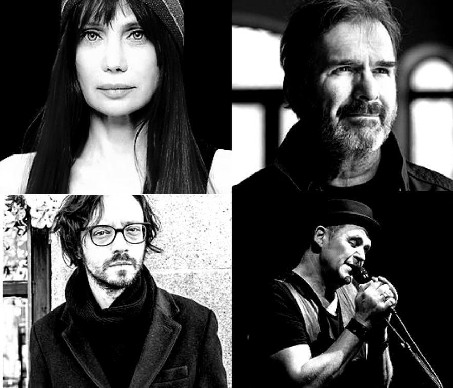 Les quatre artistes