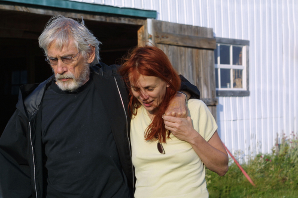 Gilles Carle et Chloé Ste-Marie