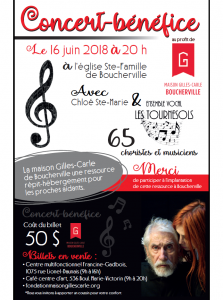 Concert-Bénéfice Boucherville